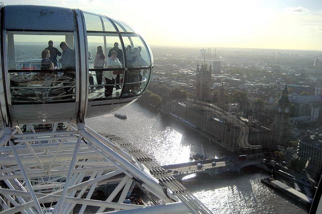 Vivendo e aprendendo: London Eye sem filas