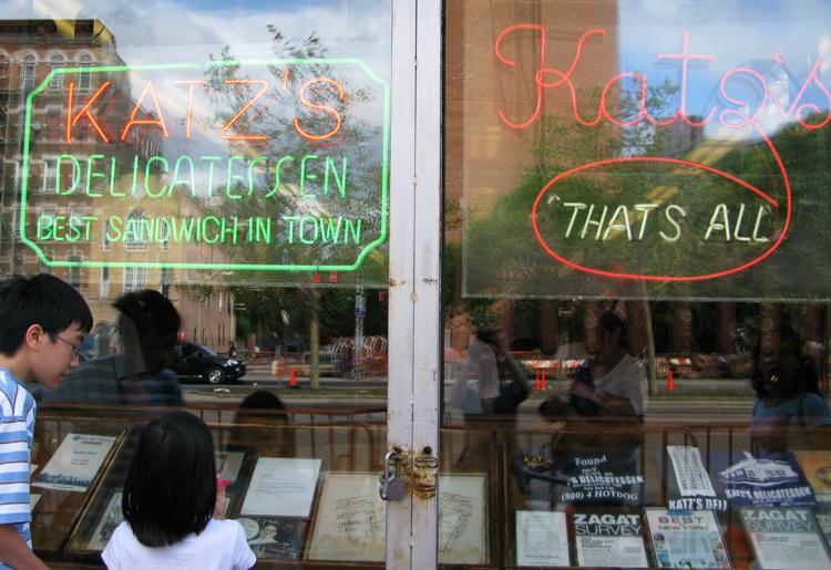 Katz's: That's all.... :-) Foto: GC/Blog Vambora