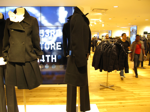 Uniqlo em Nova York. Foto: GC/Blog Vambora!