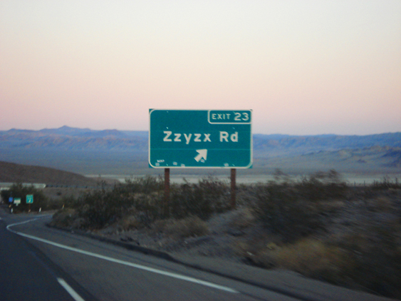 Zzyzx Road. Foto: GC/Blog Vambora