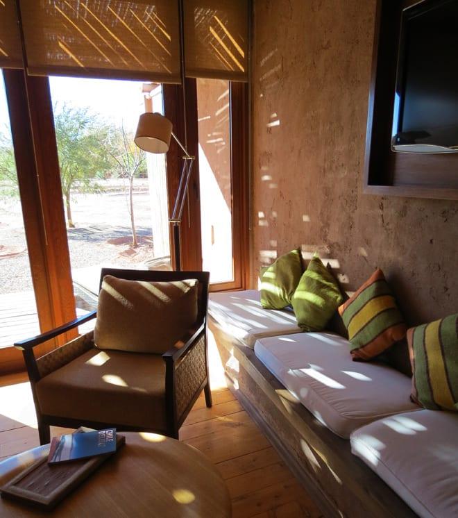 Detalhes quarto Kunza Hotel