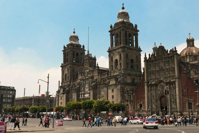 cidade do mexico afundando
