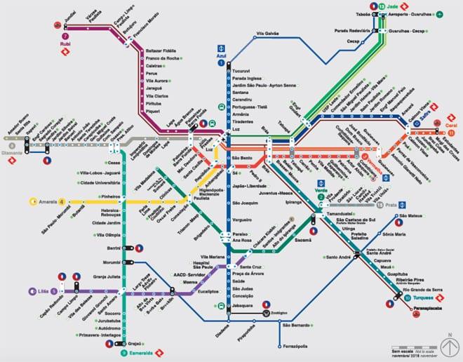 Dicas para usar o trem e o metrô de São Paulo  af0f8bde314bb