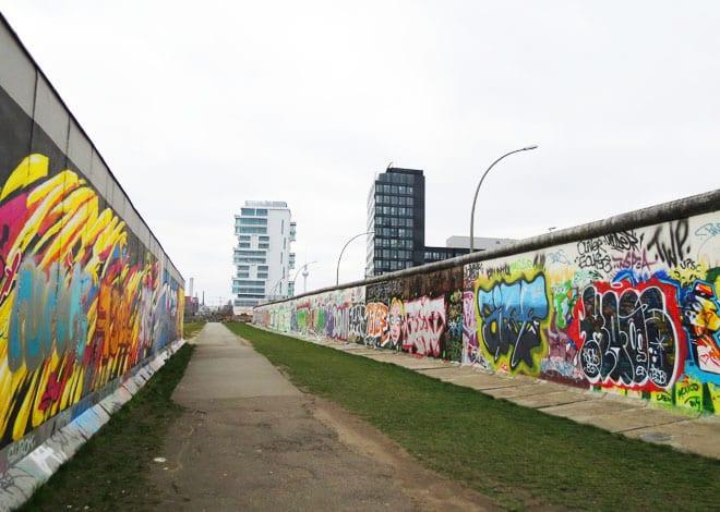 East side gallery em Friedrichshain