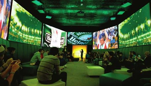Heineken Experience. Foto: Divulgação